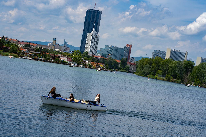 Alte Donau Große Bucht Content Pieces
