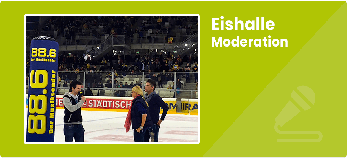 Christian Traunwieser Eishalle Moderation