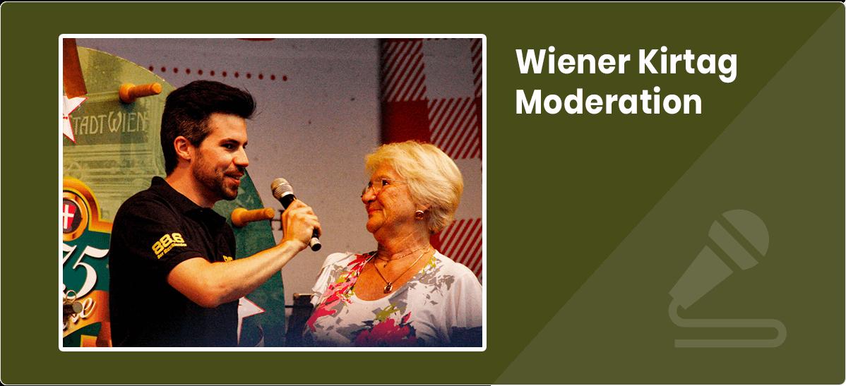 Christian Traunwieser Wiener Kirtag Moderation