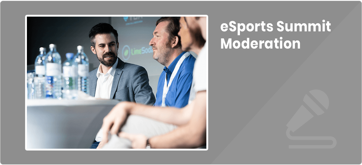 Christian Traunwieser eSports Summit Moderation